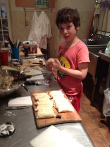 @douglasawesome can make an eggroll like a pro!
